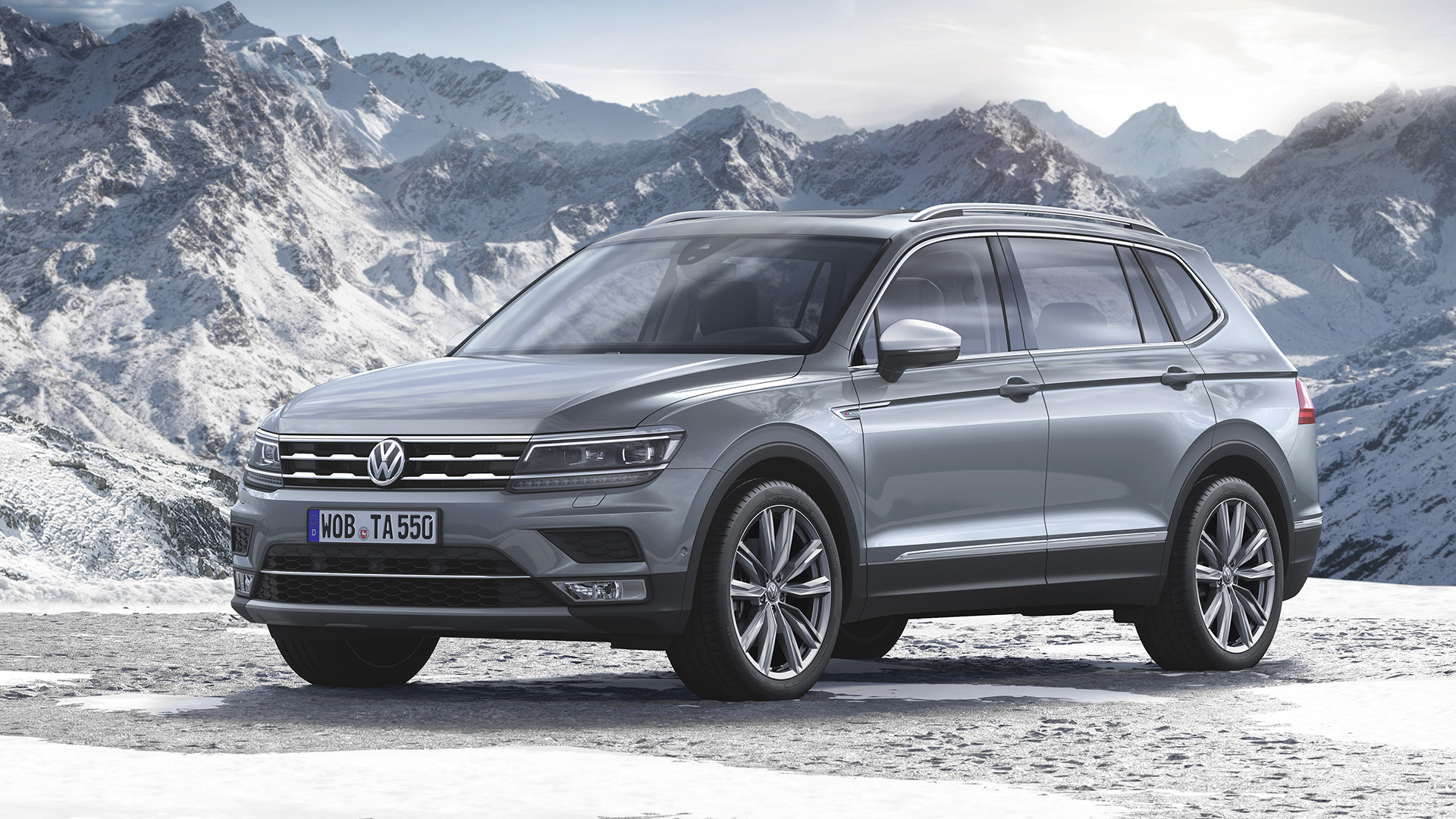 volkswagen tiguan allspace 2018 panorama motor. Black Bedroom Furniture Sets. Home Design Ideas