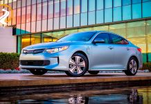 Kia Optima Plug-in Hybrid 2017