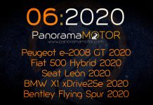 Peugeot e-2008 GT 2020 - Fiat 500 Hybrid 2020 - Seat León 2020 - BMW X1 xDrive25e 2020 - Bentley Flying Spur 2020