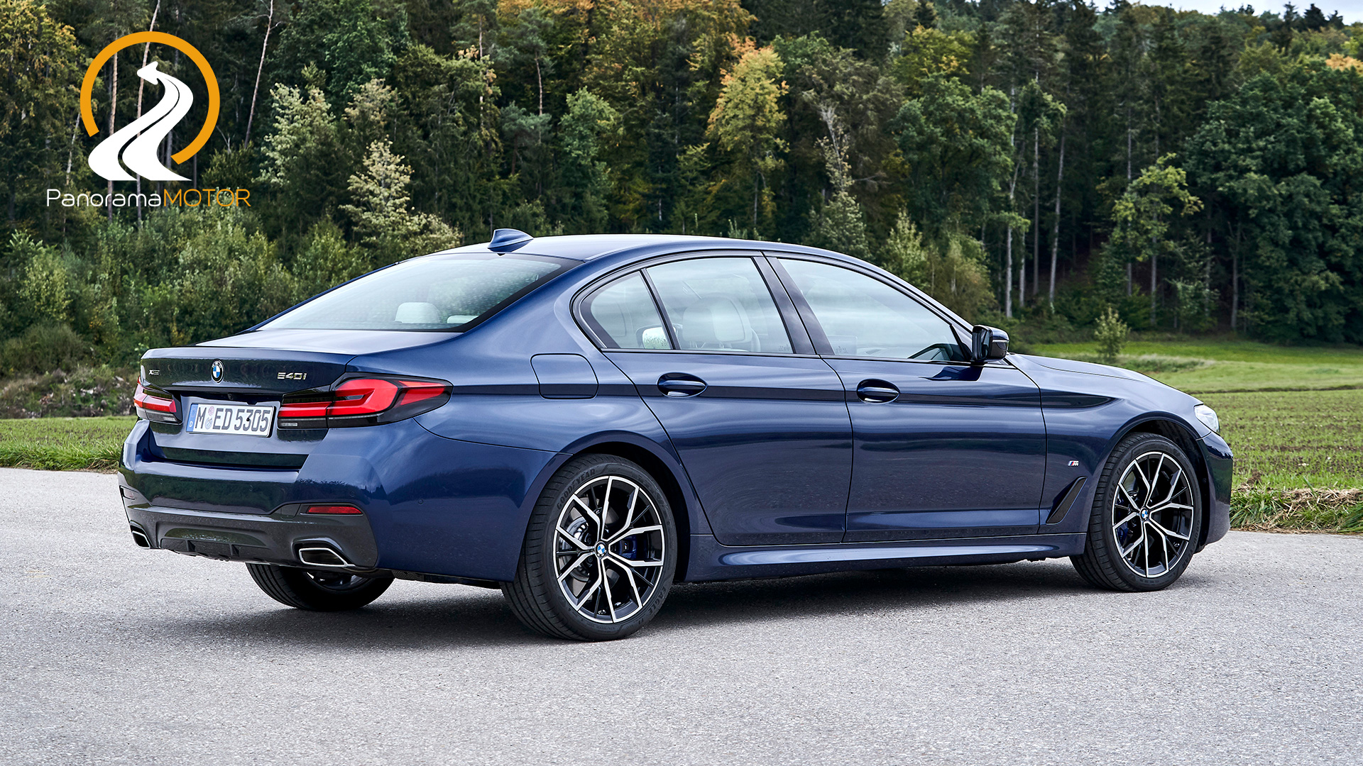 BMW 540i xDrive 2021
