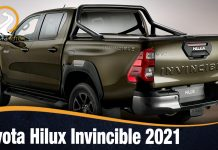 Toyota Hilux Invincible 2021